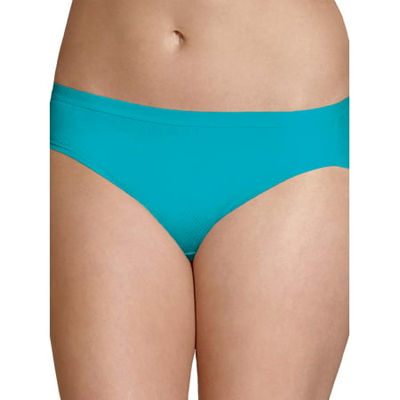 Women's Breathable Micro-Mesh Bikini Panties - 4 Pack 3 Piece Mesh Bikini