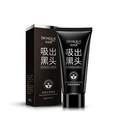 BIOAQUA Black Mud Face Mask Blackhead Remover Deep Cleansing Peel Acne
