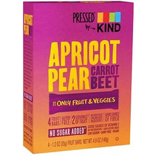 Kind Apricot Pear Bar, 4.9 oz, (Pack of 12)