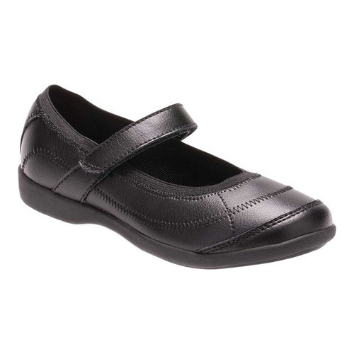 Black Toddler Girl/'s Hush Puppies Reese Mary Jane Flats