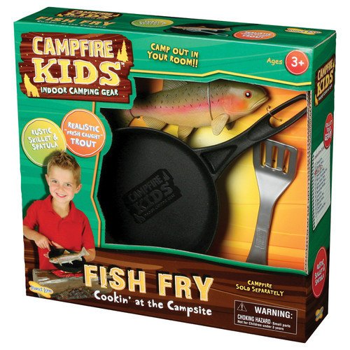 Campfire Kids Fish Fry Play Set, Trout