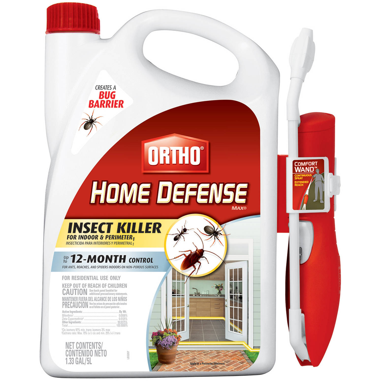 Ortho Home Defense Max Ready-to-Use with Wand, 1.33 gal