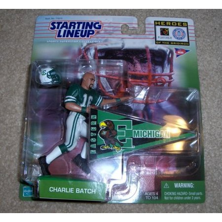 - 1999 NCAA Football Heroes of the Gridiron Starting Lineup - Charlie Batch - Eastern Michigan