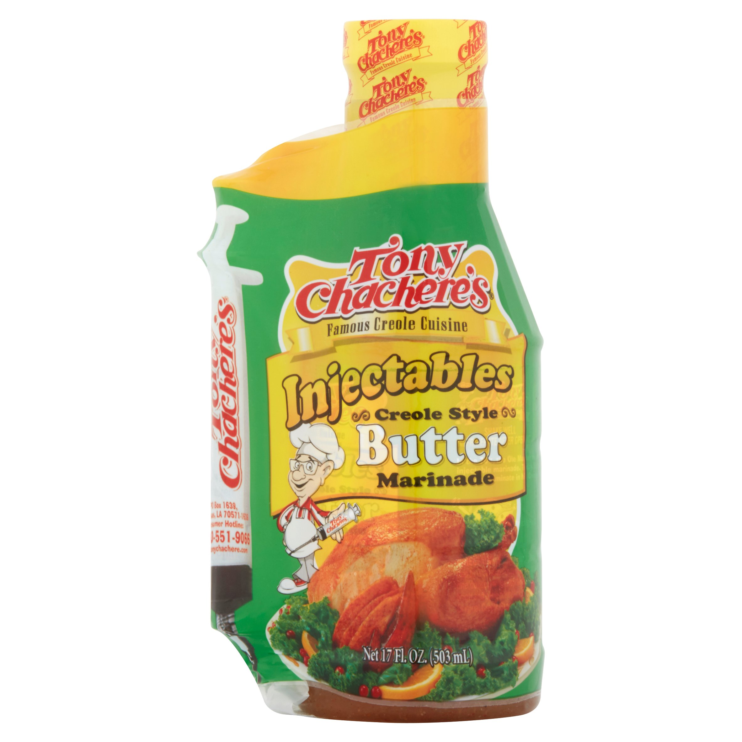 Tony Chachere's Butter Marinade Injectables, 17 fl oz