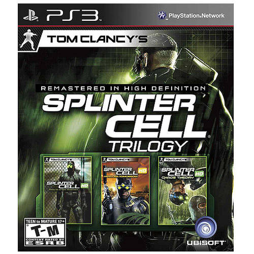 Tom Clancy's Splinter Cell Classic Trilogy (PS3) - Pre-Owned