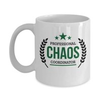 Professional Chaos Coordinator Sign Coffee & Tea Gift Mug Cup For HR, Staffing, Project, Medical, Safety, Research, Program, Marketing, Operations, Production, Activity, Event Or Wedding Coordinators