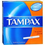 4 Pack - Tampax Tampons Super Plus 20 Each