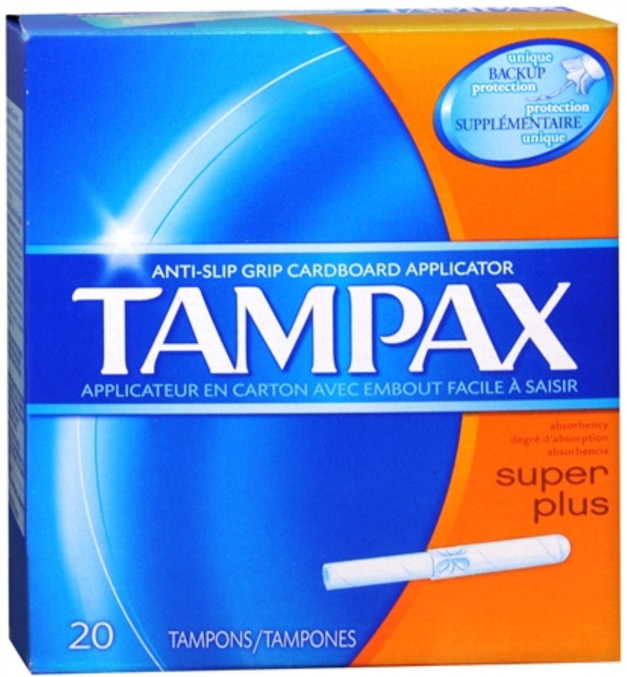 6 Pack - Tampax Tampons Super Plus 20 Each