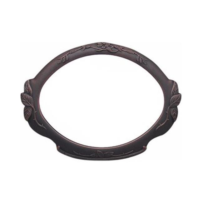 Special Lite Products SAP-4110-ORB Floral Address Plaque, Oil Rubbed Bronze