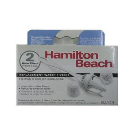 Hamilton Beach Coffeemaker Water Filter 80674 2 Filters ()
