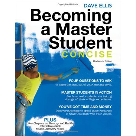 Becoming a Master Student: Concise (Textbook-specific CSFI) by Dave