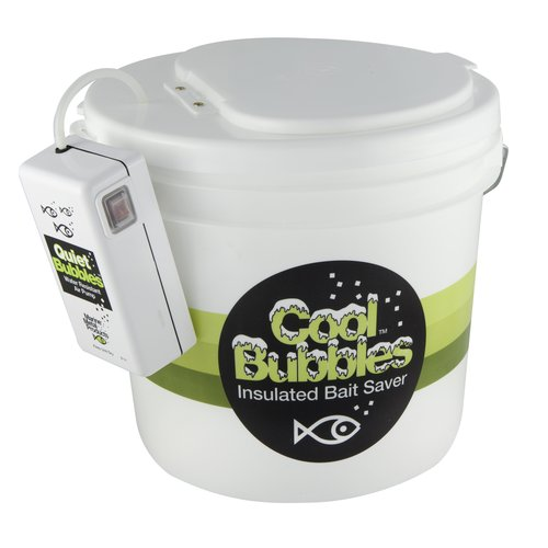 Cool Bubbles 10.5qt Insulated Container with Quiet Bubbles Pump