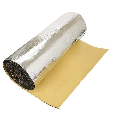 197mil 16.36sqft Car Interior Heat Sound Insulation Deadener Aluminum Foil Mat