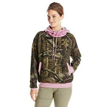 4a6a9890e9a5a Mossy Oak - Yukon Gear Women's Funnel Neck Hoodie - Walmart.com