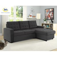 Lifestyle Solutions Serta Bostal Convertible Sectional Sofa