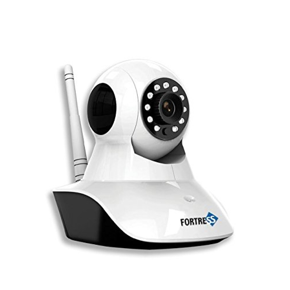Total Security Eye Sight -Wi-Fi HD 360 Security Camera with Infrared Night Vision,