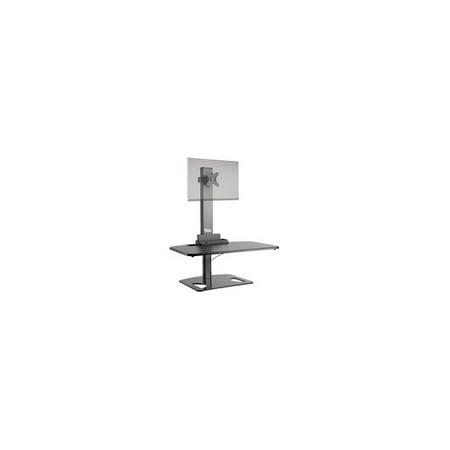 Ergotech FDM-STAND-1 Single Freedom Sit-Stand Desk Workstation Ergo Tech Single