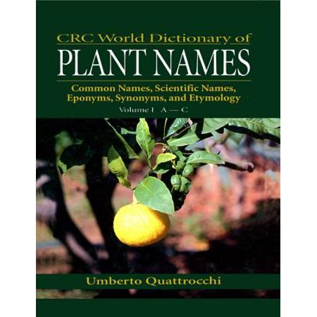 CRC World Dictionary of Plant Names - eBook