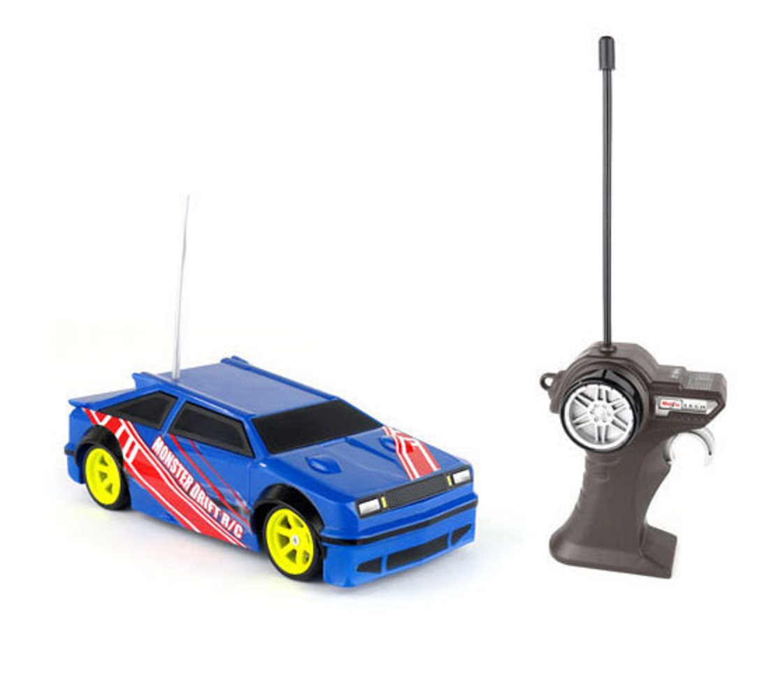 1:24 Maisto Monster Drift R/C Car - Dark Blue