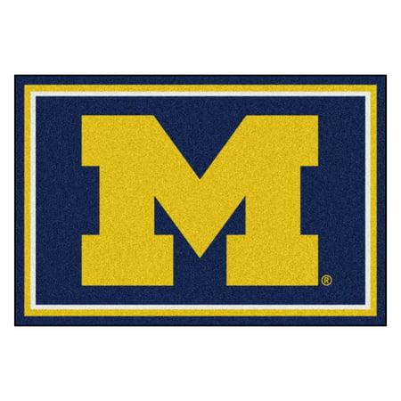 Michigan 5'x8' Rug (Michigan State Basketball Rugs)