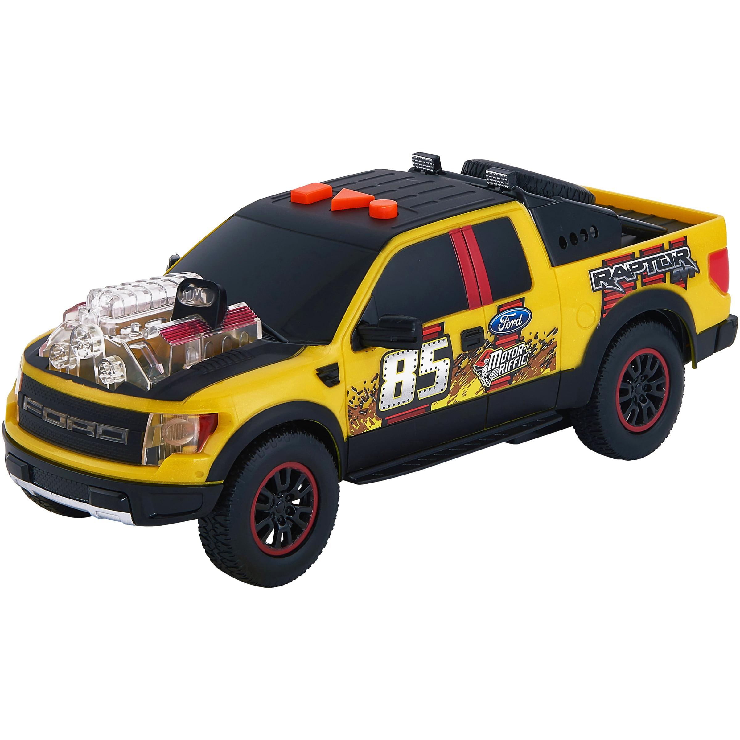 Adventure Force Lights & Sound Motor-Riffic Motorized Vehicle, Yellow