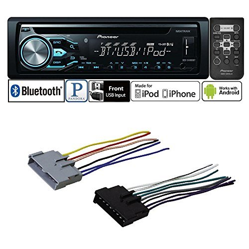 Car Stereo Radio Cd Player Receiver Bluetooth Wire Harness