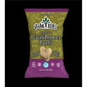 Vegan Robs 859941005137 1.25 oz Probiotic Cauliflower Puffs - 24 Piece