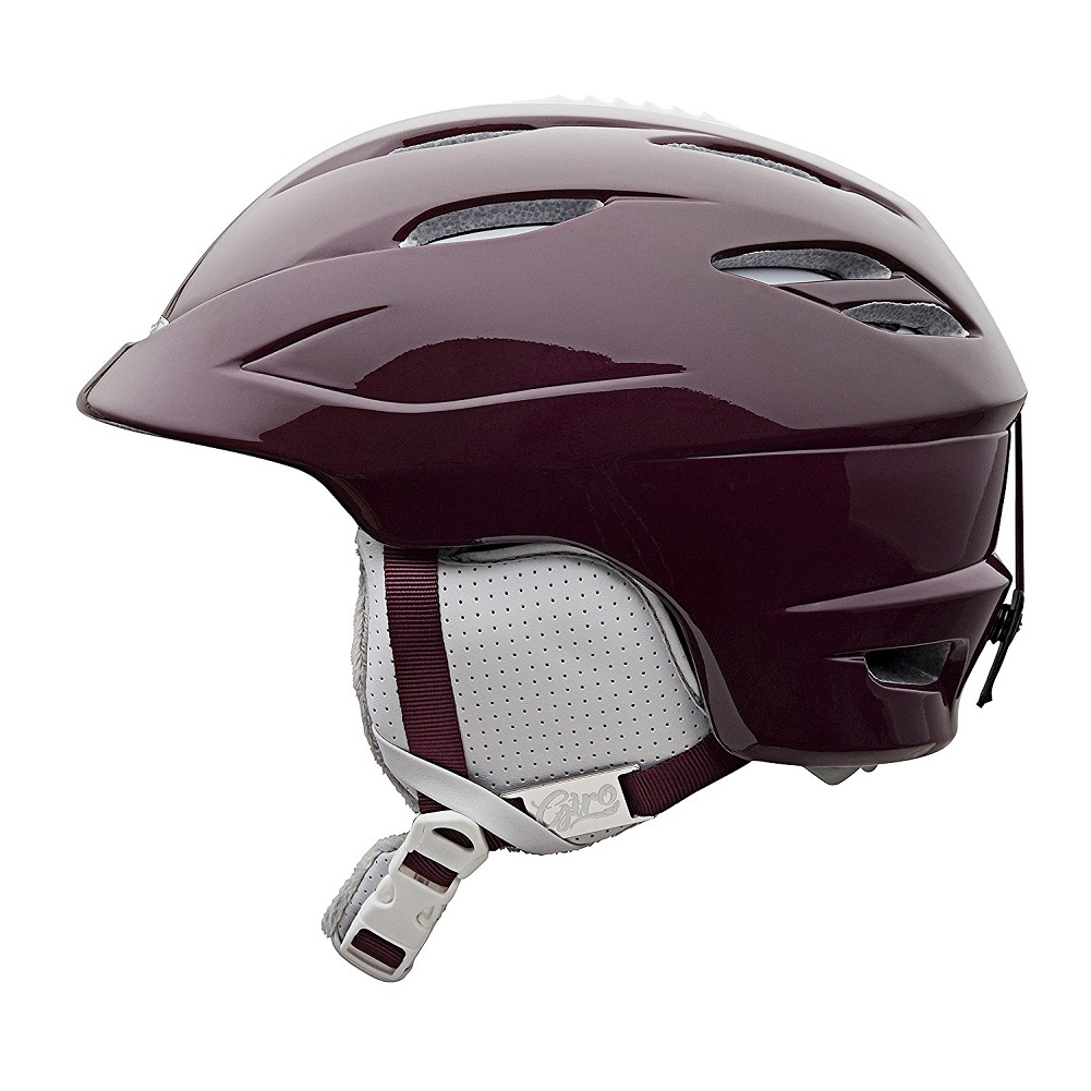 Giro Women's Sheer Snow Sport Helmet, Aubergine, Small by