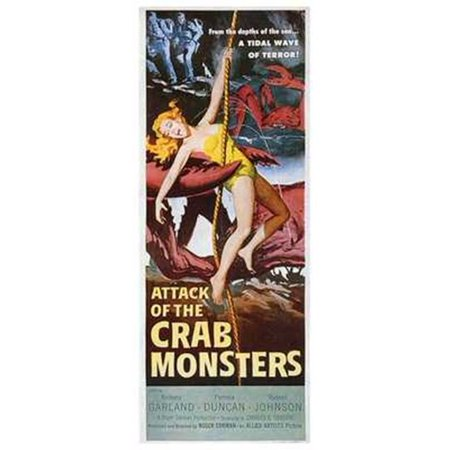 Attack of the Crab Monsters Movie Poster (11 x 17 ...