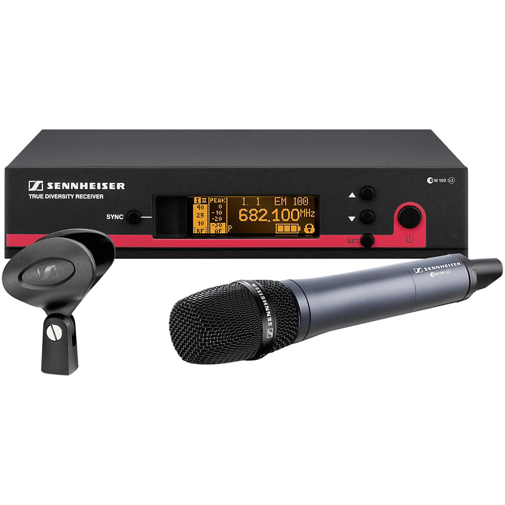 Sennheiser ew 100-935 G3 Cardioid Microphone Wireless Sys...