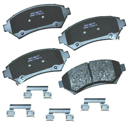 Go-Parts OE Replacement for 2000-2005 Chevrolet Impala Front Disc Brake Pad Set for Chevrolet Impala Chevrolet Impala Brake Disc