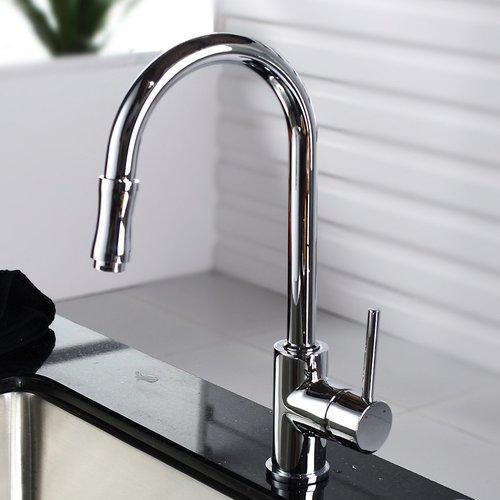 Kraus Pull Down Single Handle Kitchen Faucet