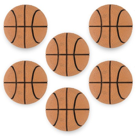 Pudgy Pedros Party Supplies 6 Pack of Mini Basketballs - 2.5