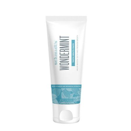 Schmidts Wondermint Toothpaste, 4.7 Oz