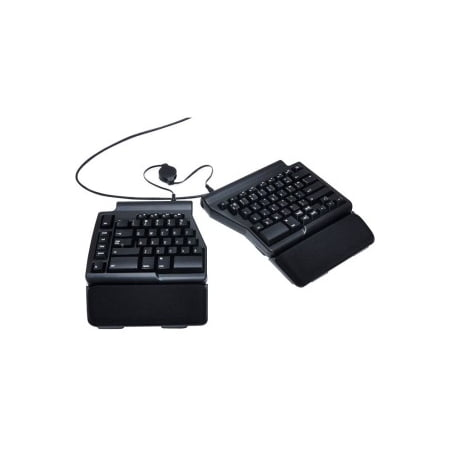 MATIAS ERGO PRO MECHANICAL SW KEYBOARD FOR PC LOW FORCE EDITION - Cable Connectivity - USB 2.0 Interface - English (US) - Compatible with Computer (PC) - QWERTY Keys Layout - Mechanical -