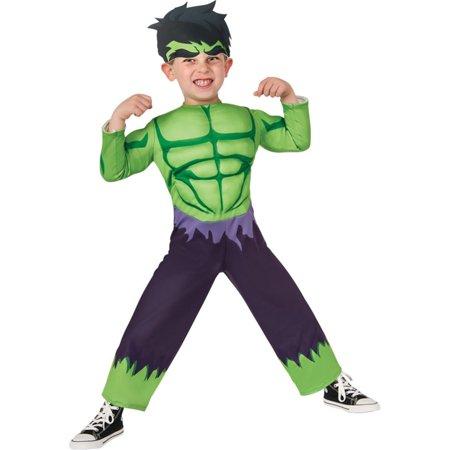 Toddler Hula Costume (Morris Costumes Boys Hulk Toddler, Style)