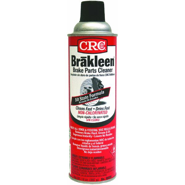 50-State-Compliant Brake Parts Cleaner