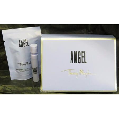 Angel Thierry Mugler Perfume Body Lotion 35 Oz Spray 04 Oz Mini