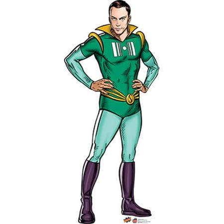 Advanced Graphics 1534 Sheldon Super Hero - Big Bang Theory