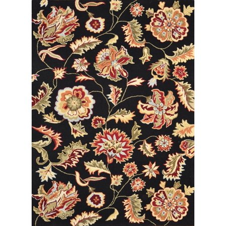 Loloi Country Fl Juliana Collection Area Rug In Bla
