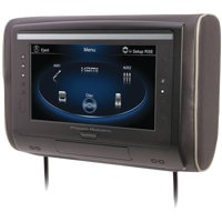 "Power Acoustik H-94 9"" LCD Universal Headrest with IR and FM Transmitters and 3 Interchangeable Skins, Monitor Only"