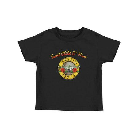 Guns N Roses Boys' Sweet Child O Mine Childrens T-shirt - 50s Childrens Clothing