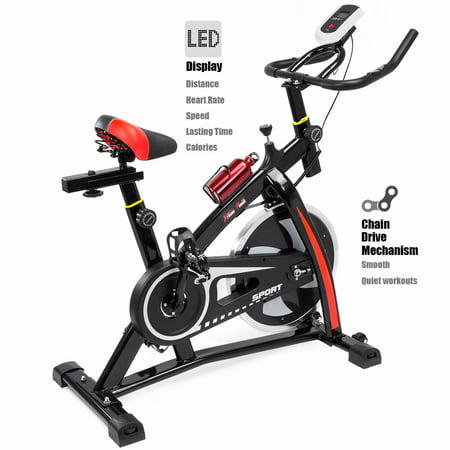 xtremepowerus stationary exercise bicycle bike cycling cardio health