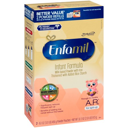 Enfamil A.R. Infant Formula for Spit Up, Powder, 32.2 Ounce Refill Box