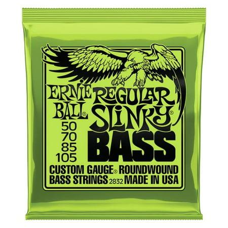2832 Ernie Ball Regular Slinky Bass Guitar Strings (String Ernie Ball)