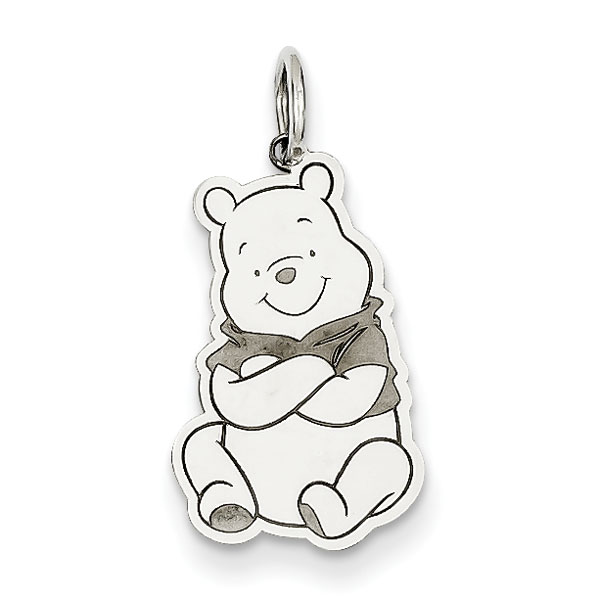 Sterling Silver Disney Winnie the Pooh Charm