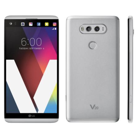 LG V20 - 64GB - Silver (Verizon) Smartphone (4G