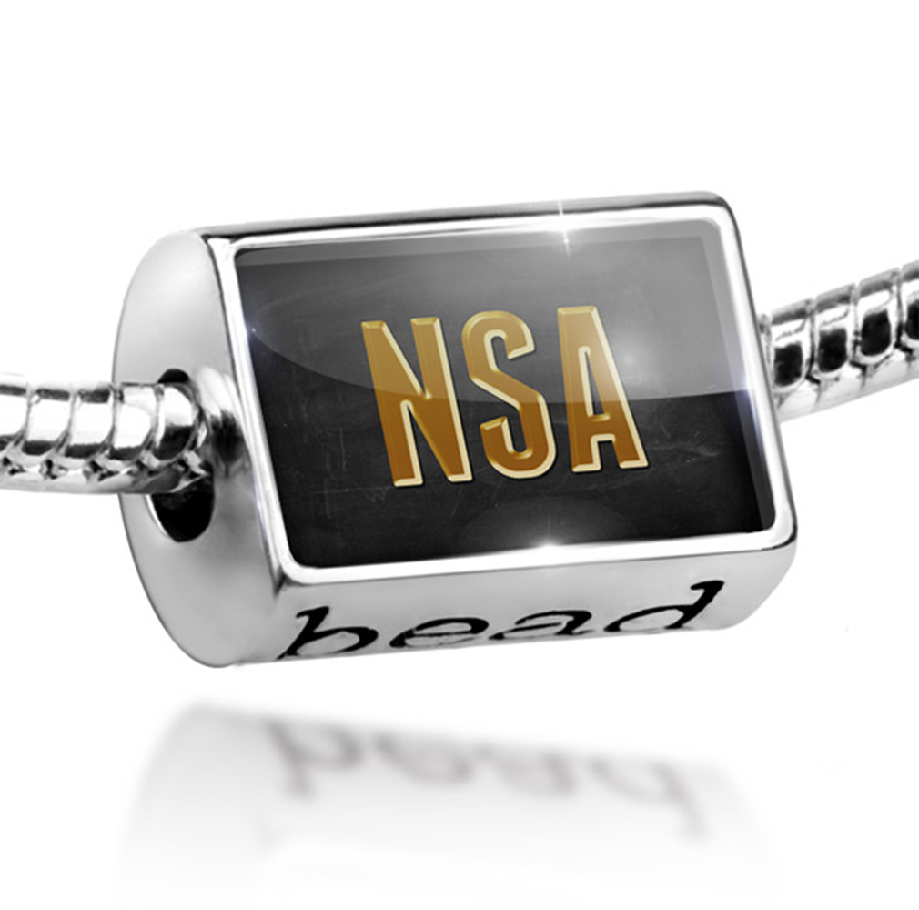 Bead NSA Charm Fits All European Bracelets