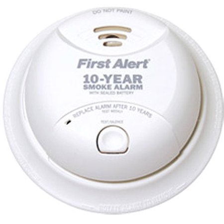 First Alert SA340CN 10-Year Tamperproof Smoke and Fire Detector