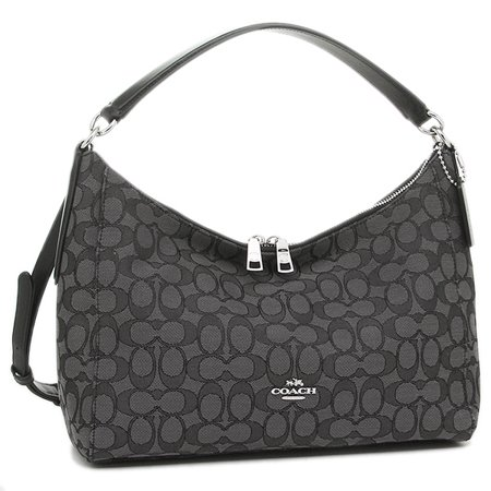 Coach Outline Signature East/West Celeste Convertible Hobo